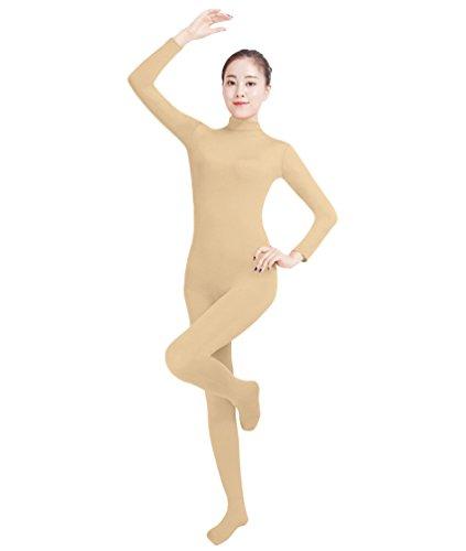 NiSeng Erwachsener und Kind Ganzkörperanzug Anzug Kostüm Ganzkörperanzug Halloween Kostüme Teint XS