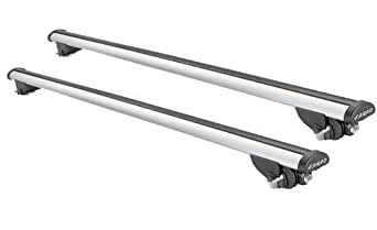 Barres de toit Farad BEAMAR cm. 130 pour Audi A3 Sportback avec barres longitudinales basses 2013>