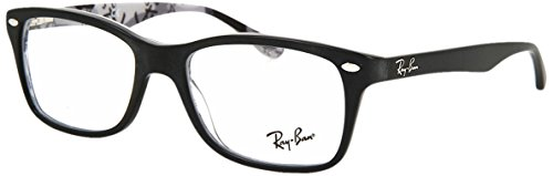 RAYBAN Unisex-Erwachsene Brillengestell 0RX 5228 5405 50, Schwarz, 53