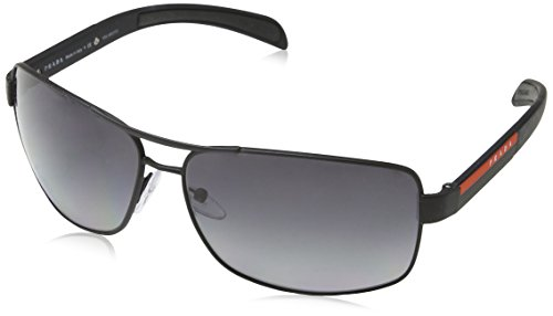 Prada Sport Herren 0PS54IS DG05W1 65 Sonnenbrille, Grau (Black)
