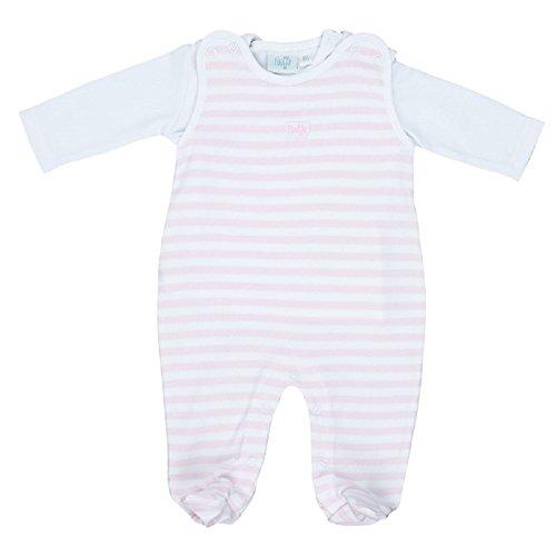 FEETJE Unisex - Baby Stramplerset 525052 rosa (192) Gr.56