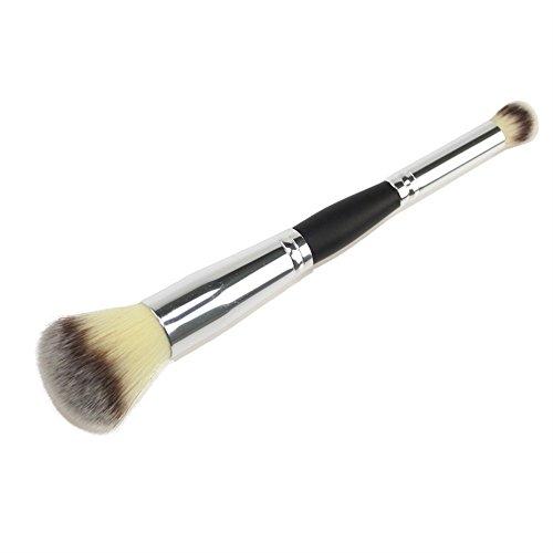 Happy- little -bear Doppelseitige Kabuki Pinsel Lidschatten Pinsel, Augenbraue Kosmetik Make-up...