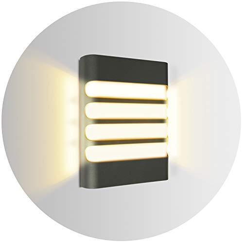 Topmo-plus 12W Lámpara de pared LED OSRAM SMD apliques de pared para...