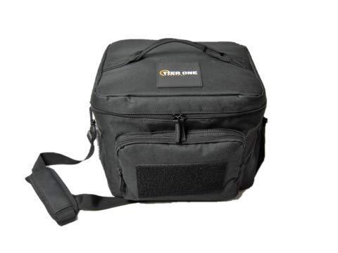 Tier One Tactical TacticCool Tasche: isolierte Kühltasche/Lunchbox mit MOLLE/PALS Webbing, Fronttasche mit Klettverschluss für Moral-Patches und verstellbarem, gepolstertem Schultergurt (Lunch-box Molle)