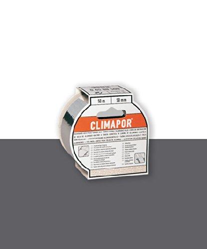 Climapor Dichtband Alu-Folie selbstklebend, 50 m x 50 mm