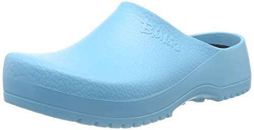Birki Super-Birki, Damen Clogs, Türkis (Ciel Blue Flower), 35 EU (3 Damen UK) -