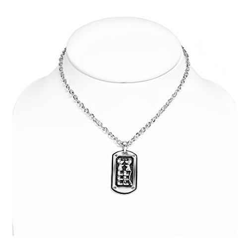 Mode-Legierung 2-Ton-Maus Chinese Brief Zodiac-Umbau-Charme-Ketten-Halskette (2-ton-maus)