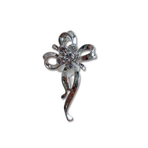 Janeo brooches £9.99   silver rhodium  trasparente su rodio
