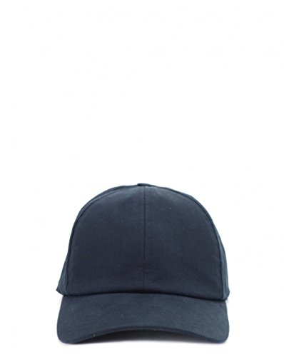 ami-cotton-gaberdine-cap-one-size-navy