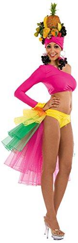 Carnival toys gonna brasile in tulle per travestimento ballerina brasiliana