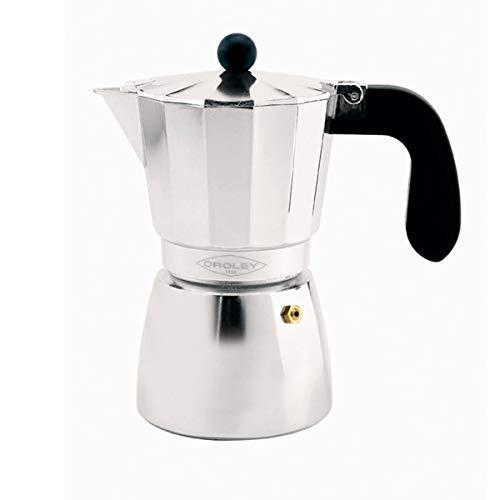 Oroley - Cafetera Italiana Alu de Aluminio, 12 Tazas