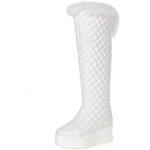 Plaid moda stivali/Piattaforma zeppe Stivali caldo cotone/Stivali tacco (Plaid High Heel)