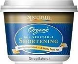 Spectrum Naturals, Organic All Vegetable Shortening, 24 oz (680 g)