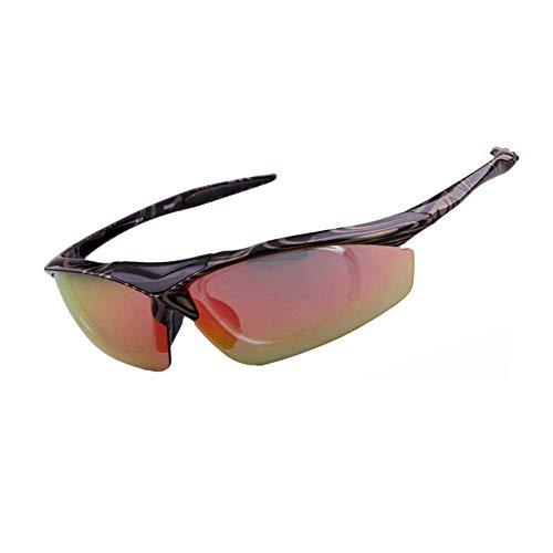 SCJ Radfahren Brille Männer und Frauen Angeln Laufen Fahrrad Berg Outdoor-Sportarten Polarisierte Anti-UV-Brille Sonnenbrillen (Berg-mann-kleidung)