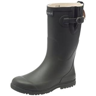 Aigle Unisex Kids' Woodypop Wellington Boots, Green (Kaki), 5 UK
