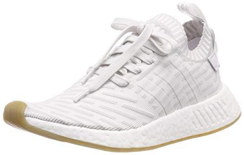 adidas Damen NMD_R2 Pk W Turnschuhe, Ftwbla/Rosimp, 38 2/3 EU