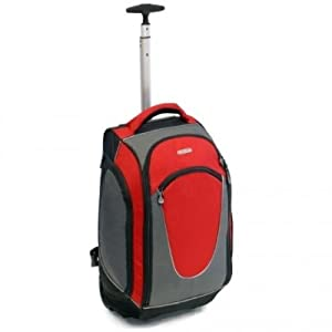 Urban Sport Cabin Approved 35 Litres Wheeled Backpack Red