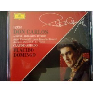 Verdi-Don Carlos-Extraits-Domingo-Raimondi-Abbado-Or.Th.Scal