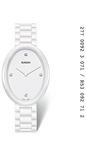 Rado–Reloj de pulsera analógico para mujer con mecanismo de cerámica 277.0092.3.071