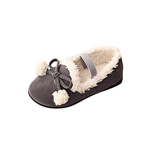 Baby Schuhe Kinderschuhe Winter Heligen Kinder Kid Baby Mädchen Winter Warme Bowknot Flache Elastische Prinzessin Kurze Schuhe
