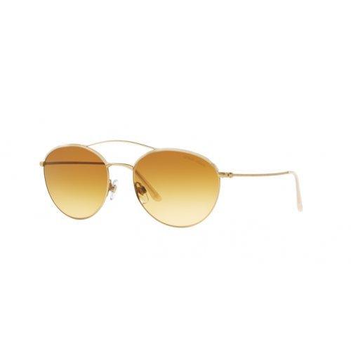 Giorgio Armani Unisex AR6032J Sonnenbrille, Gold 31242L, One size (Herstellergröße: 55)