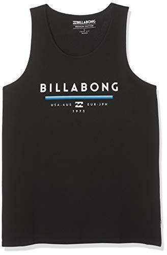BILLABONG Herren Ärmelloses T-Shirt Unity Tank, Black, L, N1SG01 BIP9 19 - Billabong Jersey Tank-top
