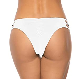 INSTINNCT Bikini Slip Donna Sexy Costume da Bagno Brasiliana Pantaloni Nuoto Bikini Bottom Tanga Vita Bassa Culotte… 1 spesavip