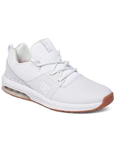 DC Shoes  Heathrow IA, Sneakers basses homme Blanc - White/White/Gum