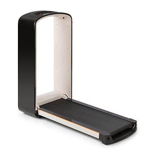 Klarfit Runtasy SE Laufband - Heimtrainer, Leistung: 1,5 PS, Lauffläche: 40 x 100 cm, 0,8-10 km/h, max. 110kg, PulseControl, klappbar, integrierte Bluetooth Lautsprecher, schwarz