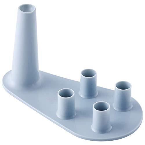 Barley33 Badezimmer Zahnbürste Rasierer Glashalter Kunststoff Lagerung Organizer Rack