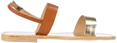 Sofie Schnoor - Sandal Metallic Leather, Sandali Donna Oro (Gold (gold))