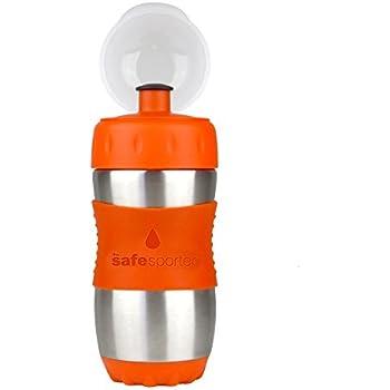 Kid Basix Safe Sporter Drinking Bottle 355 ml Orange