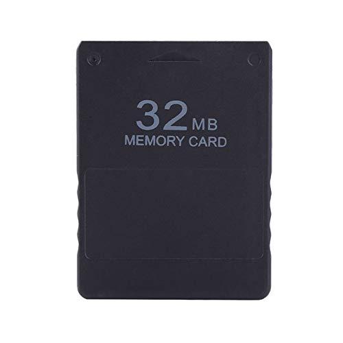 Studyset Speicherkarte 8 M / 16 M / 32 M / 64 M / 128 M High Speed Micro Game Speicherkarte für Sony Playstation 2 PS2 32mb