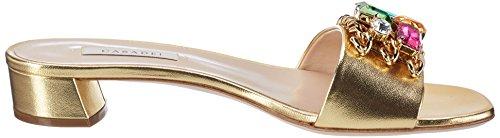 Casadei - 1m321, Sandali Donna Gold (Oro)