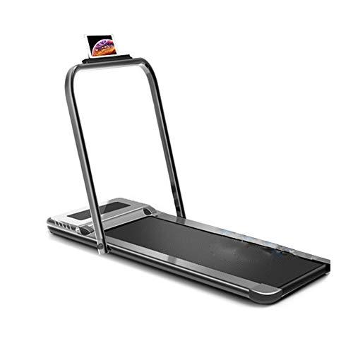Laufband Elektrisch Klappbar für Zuhause,Mini-Laufband mit Smartphone App,Kompakt Klappbar Verstaubar Belastbarkeit bis 120 kg,Fitnessgeräte für Anfänger und Fortgeschrittene