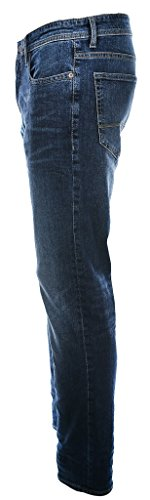 MAC Herren Jeans Ben Pipe Blau