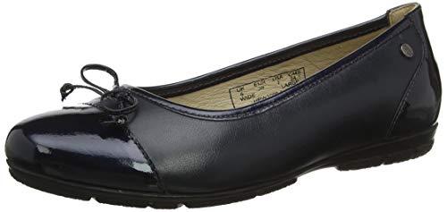 Hush Puppies Bambi, Zapatos de tacón con Punta Cerrada para Mujer, Azul Navy Navy, 37 EU