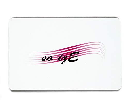 Carte Anti RFID/NFC - Protection Carte Bancaire - 1 Seule Suffit pour Tout Votre Portefeuille- Bonus : Stickers Sécurité pour Carte Bleu Offert - Finis Les Fraudes Et Piratage CB - Passeport - Permis