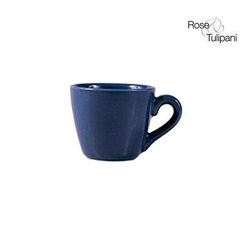Rose e Tulipani r131800023 F & Te 'Without C Tasse, Soucoupe Bleu Lot de 6,