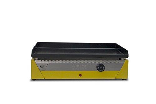 Simogas RAINBOW E50, Piastra elettrica, in acciaio, colore: giallo