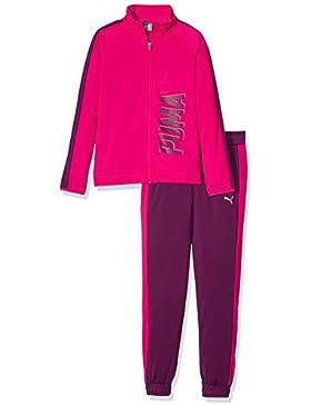 Puma Kinder Graphic Poly Suit Open Trainingsanzug