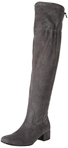 Gabor Shoes Damen Basic Stiefel, Grau (19 Dark-Grey), 43 EU