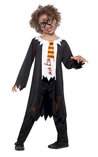 Fancy Me Jungen Mädchen Kinder Leichnam Zombie Student Schule Jungen Mädchen Unheimlich Buch Film Halloween Kostüm Kleid Outfit 4-12 Jahre - 4-6 ()