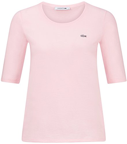 Lacoste Damen Shirt Halbarm Rose (70) 36