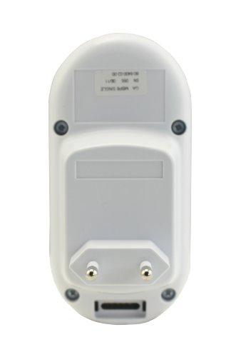 Motorola MBP 8-2 Digitales Audio Babyphone mit zwei Elternempfangseinheiten – 2 LED's