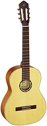 Ortega R121-4/4 - Guitarra clásica, abeto y caoba, tamaño...
