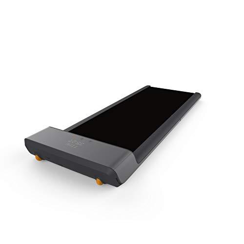 WalkSlim 630 WalkingPad Mini Laufband klappbar Fitnessgerät für Zuhause/Büro + gratis App, Adaptive Geschwindigkeitsanpassung, Aluminiumdesign, 10.000 Schritte am Tag gehen, 30 Tage Testen (Schwarz)