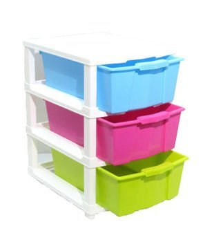 Diswa Home Stylish Storage organiser drawer box Use Basket, Child Cloth, Small Kids Toys Storage Etc Modular Drawer System