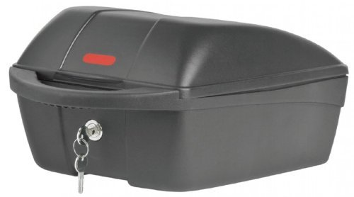 fahradkoffer Polisport Top-Case Fahrradkoffer Packtasche Fahrrad Koffer Halteplatte zum einfachen abnehmen