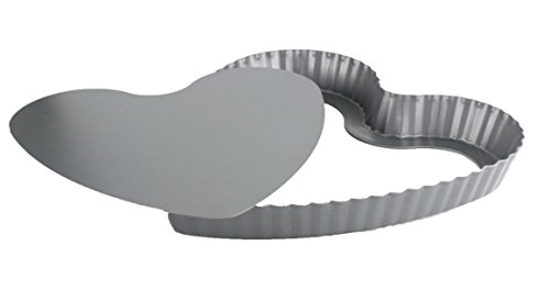 ARD TIME-Backform für tarte, herausnehmbarer Boden, Herz-Form -